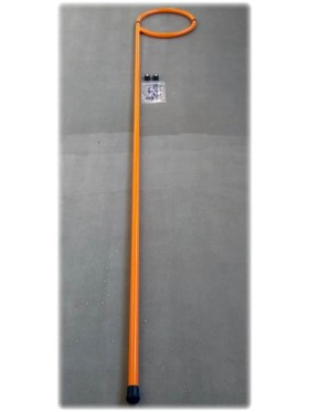 Шест алюминиевый спасательный с петлей, 3 метра.
