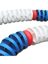 Дорожка волногасящая разделительная диам. 105 мм. на полиамидном шнуре, м.пог.